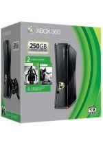 Prislušenstvo pre XBOX 360 XBOX 360 Slim - herná konzola (250GB) + Batman: Arkham City + Darksiders II + headset + 1 mesiac Xbox Live GOLD