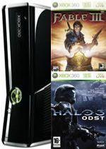 Prislušenstvo pre XBOX 360 XBOX 360 Slim - herná konzola (250GB) + Fable III+ Halo 3: ODST