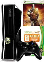 Prislušenstvo pre XBOX 360 XBOX 360 Slim - herná konzola (250GB) + Fable III CZ (Collectors Edition) + 3 mesiace LIVE GOLD