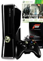 Prislušenstvo pre XBOX 360 XBOX 360 Slim - herná konzola (250GB) + Forza 3 + Crysis 2 + 3 mesiace XBOX Live GOLD
