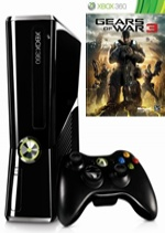 Prislušenstvo pre XBOX 360 XBOX 360 Slim - herná konzola (250GB) + Gears of War 3