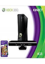 Prislušenstvo pre XBOX 360 XBOX 360 Slim - herná konzola (4GB) + ovládač Kinect + Kinect Adventures + Joy Ride