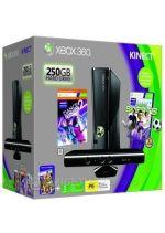 Prislušenstvo pre XBOX 360 XBOX 360 Slim - herná konzola (250GB) + ovládač Kinect + Kinect Adventures + Kinect Sports + Dance Central 2