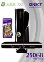Prislušenstvo pre XBOX 360 XBOX 360 Slim - herná konzola (250GB) + ovládač Kinect + Kinect Adventures + Halo 3/Halo 3: ODST