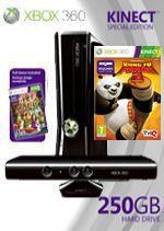 Prislušenstvo pre XBOX 360 XBOX 360 Slim - herná konzola (250GB) + ovládač Kinect + Kinect Adventures + Kung Fu Panda 2 + 3 mesiace XBOX Live GOLD