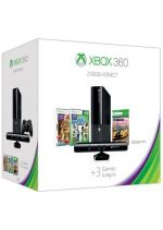 Příslušenství pro XBOX 360 XBOX 360 Slim Stingray - herní konzole (250GB) + ovladač Kinect + Forza: Horizon + Kinect Sports 2 + Kinect Adventures