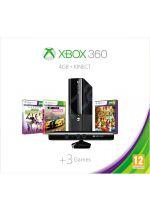 Prislušenstvo pre XBOX 360 XBOX 360 Slim Stingray - herná konzola (4GB) + pohybový senzor Kinect + Kinect Adventures + Kinect Sports + Forza Horizon CZ + 1 mesiac LIVE GOLD