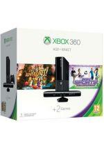 Prislušenstvo pre XBOX 360 XBOX 360 Slim Stingray - herná konzola (4GB) + ovládač Kinect + Kinect Adventures + Kinect Sports Ultimate