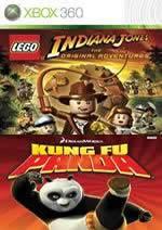 Hra pre Xbox 360 LEGO Indiana Jones: The Original Adventures + Kung Fu Panda