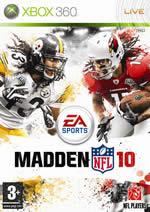 Hra pre Xbox 360 Madden NFL 10