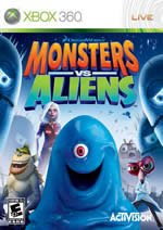 Hra pre Xbox 360 Monsters vs. Aliens