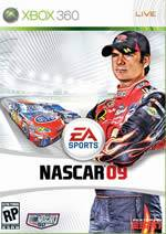 Hra pre Xbox 360 NASCAR 09