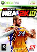 Hra pro Xbox 360 NBA 2K10