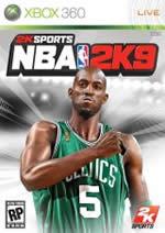 Hra pre Xbox 360 NBA 2K9