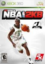 Hra pre Xbox 360 NBA 2K8