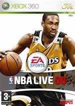 Hra pre Xbox 360 NBA Live 08