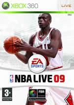 Hra pre Xbox 360 NBA Live 09