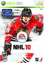 Hra pre Xbox 360 NHL 10 CZ