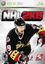 Hra pre Xbox 360 NHL 2K8