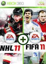 Hra pre Xbox 360 NHL 11 CZ + FIFA 11 CZ