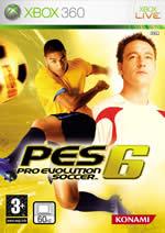 Hra pre Xbox 360 Pro Evolution Soccer 6