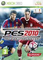 Hra pre Xbox 360 Pro Evolution Soccer 2010