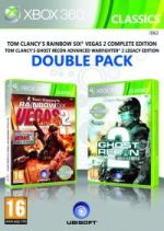 Hra pre Xbox 360 Tom Clancys Rainbow Six: Vegas 2 + Ghost Recon: Advanced Warfighter 2