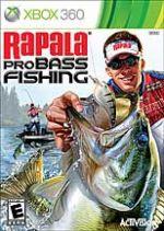 Hra pre Xbox 360 Rapala Pro Bass Fishing 2010 + prút