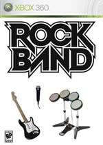 Hra pre Xbox 360 Rock Band + gitara/bicie/mikrofón