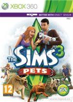 Hra pro Xbox 360 The Sims 3: Domácí Mazlíčci