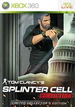 Hra pre Xbox 360 Splinter Cell 5: Conviction (Limitovaná zberateľská edícia)
