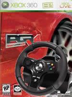 Prislu�enstvo pre XBOX 360 volant Logitech DriveFX Axial Feedback Wheel + Project Gotham Racing 4