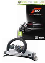 Prislušenstvo pre XBOX 360 volant Wireless Racing Wheel Microsoft v2 + Forza 3 CZ