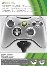Prislušenstvo pre XBOX 360 XBOX 360 Wireless Controller + Play & Charge Kit (strieborný)