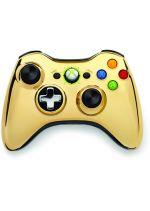 Prislu�enstvo pre XBOX 360 XBOX 360 Wireless Controller Chrome (zlat�)