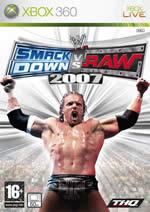Hra pre Xbox 360 WWE SmackDown vs. Raw 2007