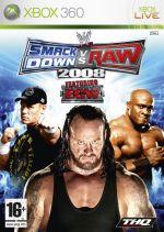 Hra pre Xbox 360 WWE SmackDown! vs. RAW 2008
