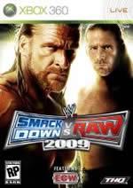 Hra pre Xbox 360 WWE SmackDown! vs. Raw 2009