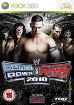 Hra pre Xbox 360 WWE SmackDown! vs. Raw 2010