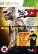 Hra pre Xbox 360 WWE 12 (Wrestlemania Edition)