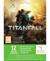 Hra pre Xbox 360 XBOX 360 - 12 mesiacov XBOX Live GOLD + 1 mesiac zadarmo (vzhľad TitanFall)