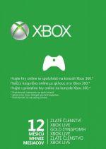 Hra pre Xbox 360 XBOX 360 - 12 mesiacov XBOX Live GOLD