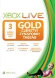 XBOX Live GOLD - 3 měsíce